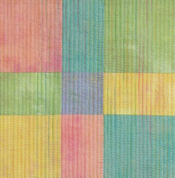 love the different color threads ..: Quilting Thread, Secret Quilts, Stitching Quilts, Quilts Sewing, Color Threads, Variegated Quilting, April Showers, Modern Quilts