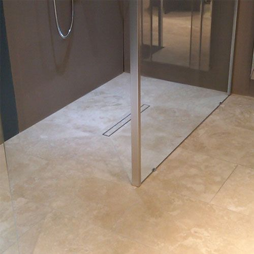 wet room solutions tile grate and waste this one is