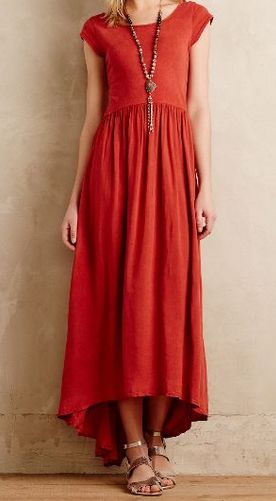 """I love maxi dresses but since I'm 5'3"""" I tend to shy away from them. If you could find a casual maxi dress I could wear with some color or an interesting print that doesn't pool on the floor, you'd be my hero."""
