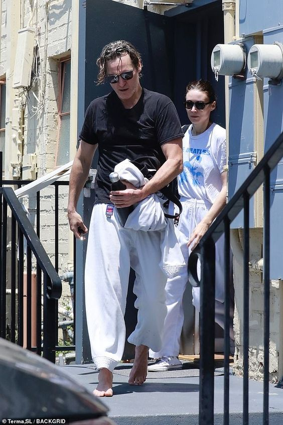 Rooney Mara and Joaquin Phoenix step out for martial arts class in Los Angeles   Daily Mail Online