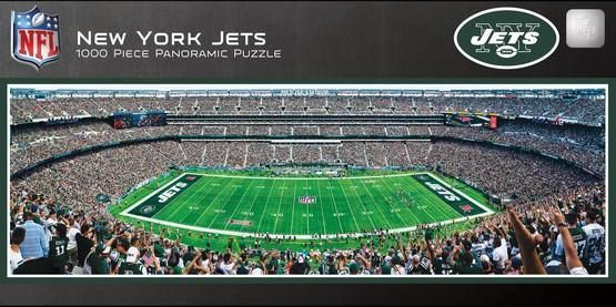 New York Jets 1000 Piece Panoramic Puzzle In 2021 New York Jets Panoramic Jets Stadium