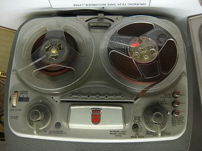 We had a reel-to-reel tape recorder when I was very young...wish we still had the recordings - would probably be really funny to hear them.