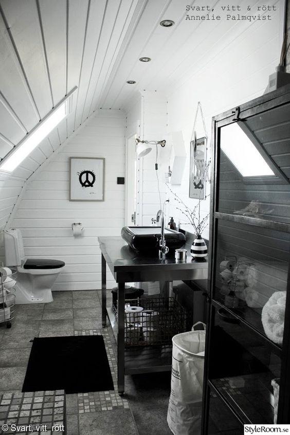 Badrum badrum panel : industristil,toalett,badrum,industribadrum,rostfri inredning ...