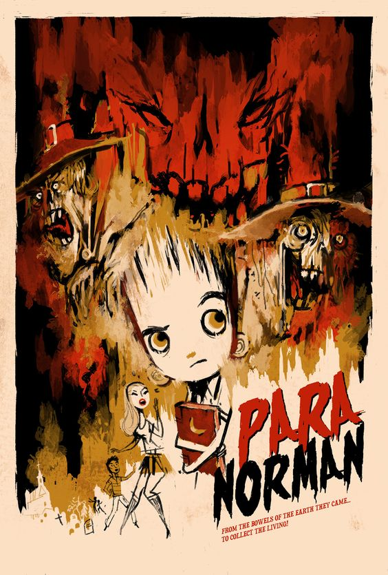 Cool PARANORMAN Poster Art from KevinDart - News - GeekTyrant