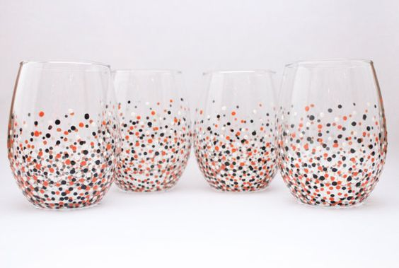 Orioles wine glass fun wine glasses hand painted by aGlassWithSass