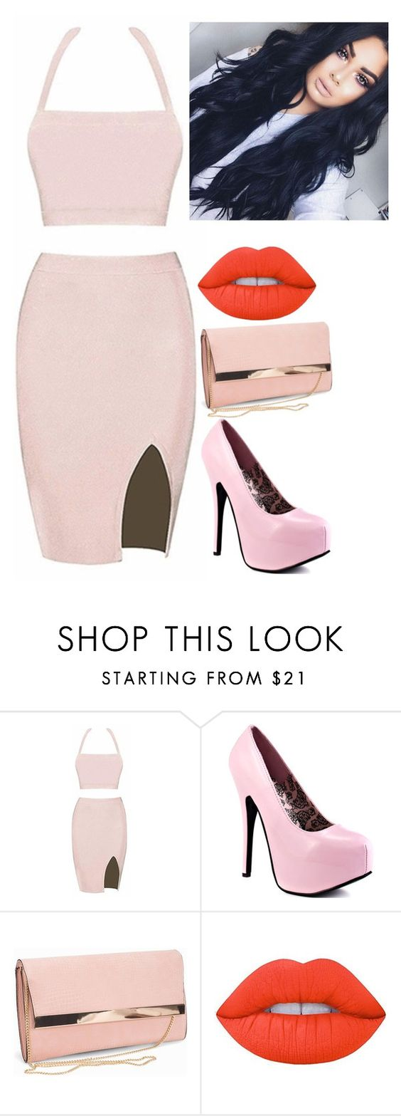 """#32"" by lina-apoelhn ❤ liked on Polyvore featuring New Look and Lime Crime"