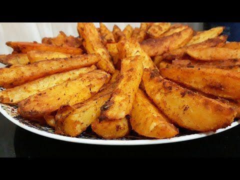 بطاطس في الفرن بتتبيلة رااائعة صحية و لذييذة جدا رووعة في المذاق Potatos Au Four Youtube Potato Recipes Recipes Food