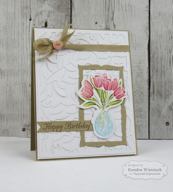 Kendra's Card Company: Taylored Expressions Sneak Peeks Day #2: Picture Perfect Sunshine