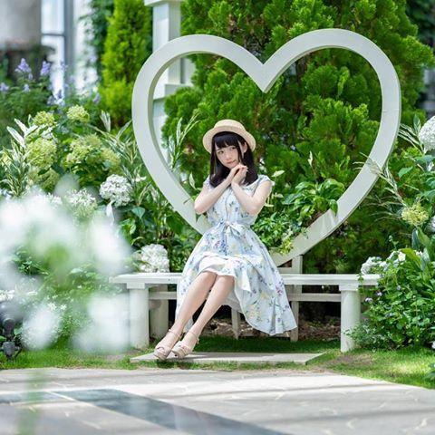 天瀬音羽 さん amase0126 instagram写真と動画 ワンピース コーデ 音羽 ワンピース