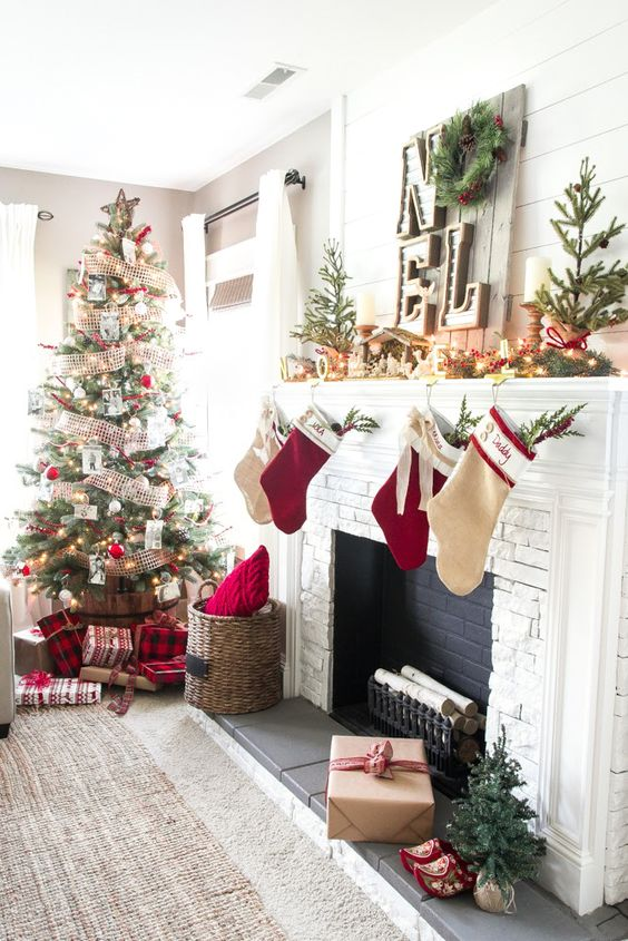 Cozy Christmas Living Room Tour   Christmas living rooms, Cozy christmas  and Room tour