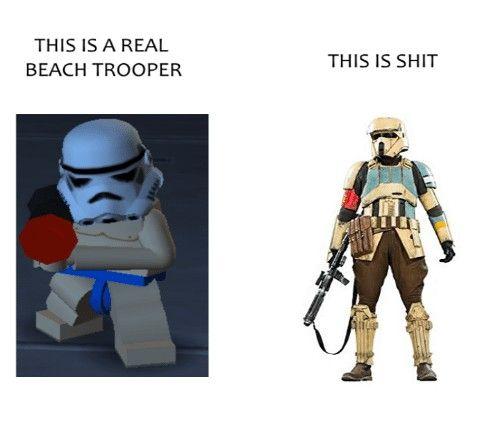 A Funny Lego Starwars Meme Zelda Characters Trooper Star Wars