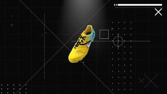 Short Animation for Nike soccer cleats  Produced @ Otis  done in C4D & AE