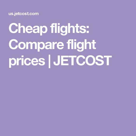 Cheap flights: Compare flight prices | JETCOST