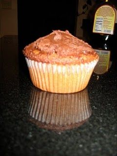 Paleo Vanilla Cupcakes with chocolate frosting