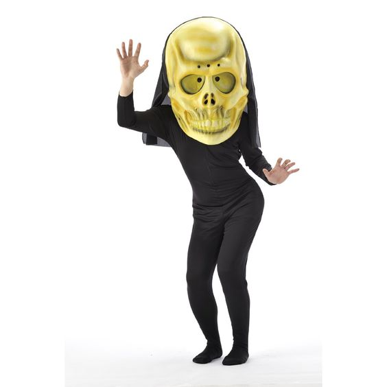 Jumbo Skeleton Mask