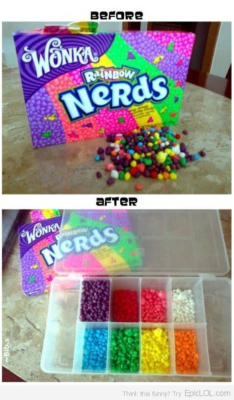 How People With OCD Eat Nerds...people have too much time