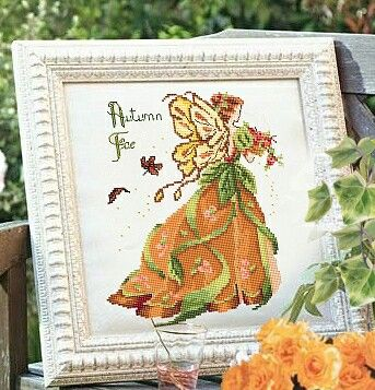 Hola, busco esta hada es de Passione Ricamo Autumn Little Fairie, desde hace 3 años, si alguien lo tiene  lo podría compartir? Gracias anticipadas.