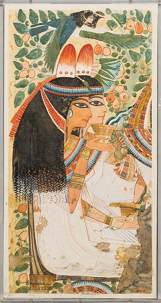 The Mother and Wife of Userhat, Tomb of Userhat
