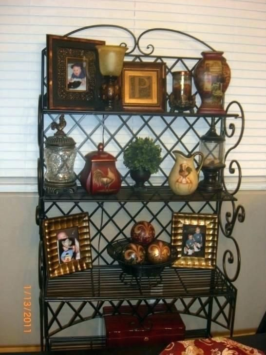 How To Decorate A Bakers Rack Google Search Decor Bakers Rack