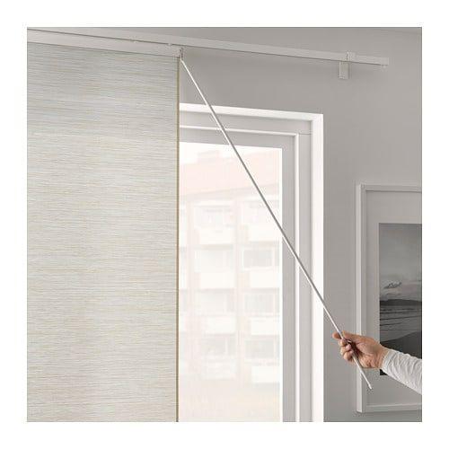 Vidga Draw Rod White 43 110 Cm Panel Curtains Ikea