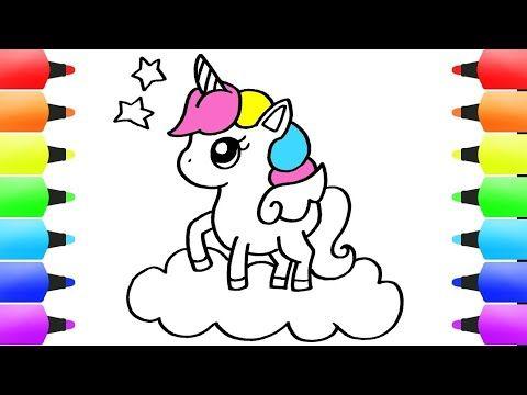 رسم وحيد القرن للاطفال رسم سهل كيف ترسم وحيد القرن سهل تعليم الرسم Easy Drawings Youtube Art Fictional Characters Character