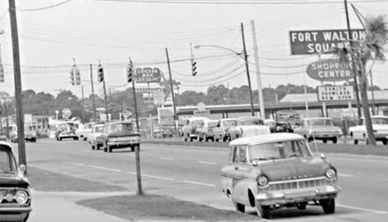 1950 39 s fort walton square my hometown pinterest for Beach city motors fort walton beach fl
