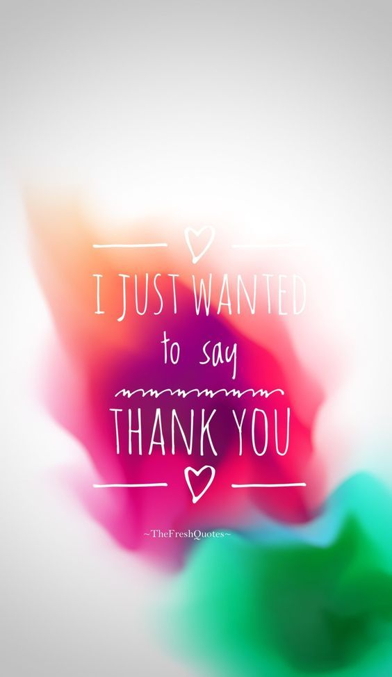 ❤️ I JUST WANTED to say THANK YOU ❤️ Bren❤️ | Thank you quotes, Thank you  quotes gratitude, Say thank you quotes