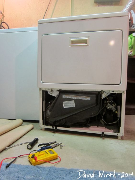 Clothes dryer won't heat.  Easy free fix
