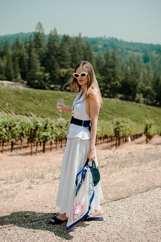 Ladies Napa Valley Casual Chic 1