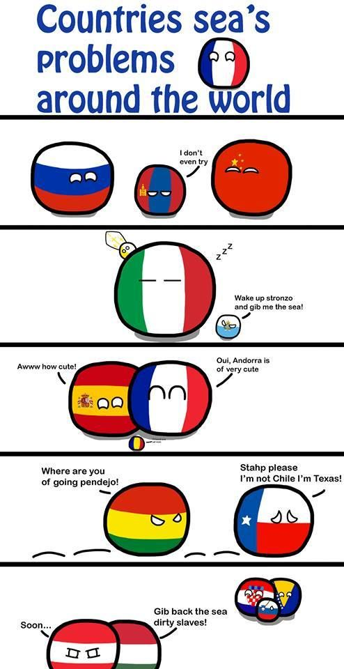 Of Sea Problems Country Jokes Country Memes Funny Maps