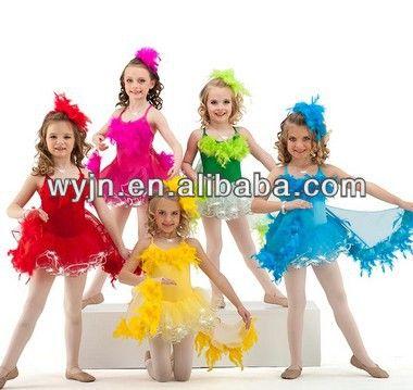 los niños de la moda de los niños carnaval disfraces tutú de ballet de  ballet vestido