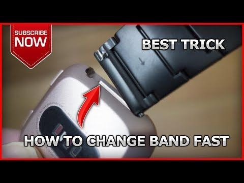 How To Change Band On Fitbit Versa Youtube Fitbit Bands