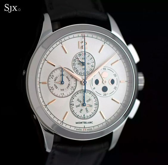Up Close with the Montblanc's Affordable Chronograph Annual Calendar | SJX Watches