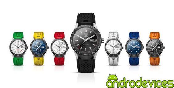 Nuevo TAG Heuer Connected, un smartwatch de lujo con Android Wear