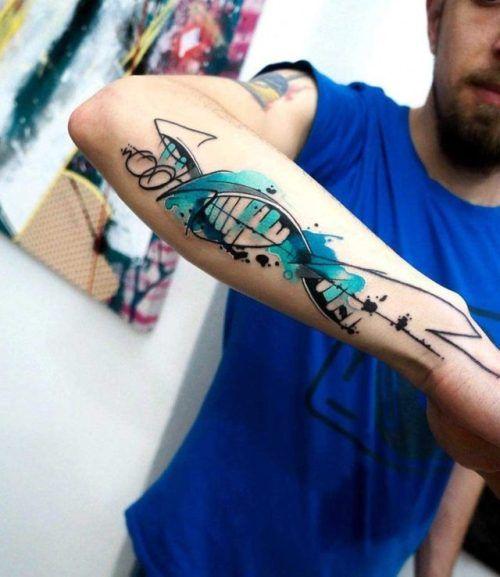 Dna Tattoo On Forearm Best Tattoo Ideas Gallery Tattoos Tattoos Art Photos Tattoo Designs Tatuajes Abstractos Tatuaje De Adn Tatuajes Creativos