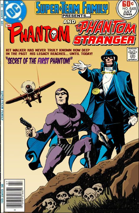 Super-Team Family: The Lost Issues!: The Phantom and The Phantom Stranger