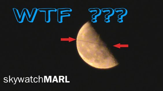 """Mysteriöse """"LINIE"""" am MOND!