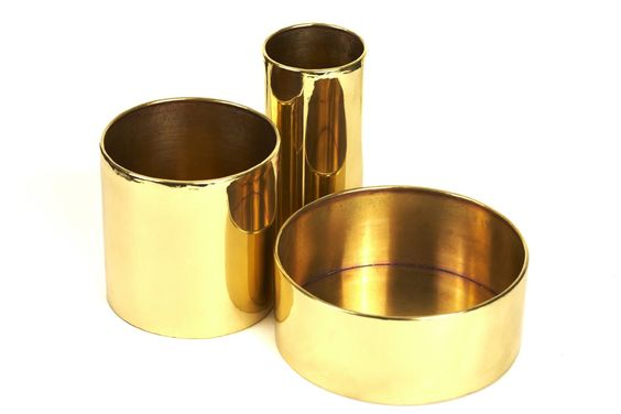 Mini Brass Planters