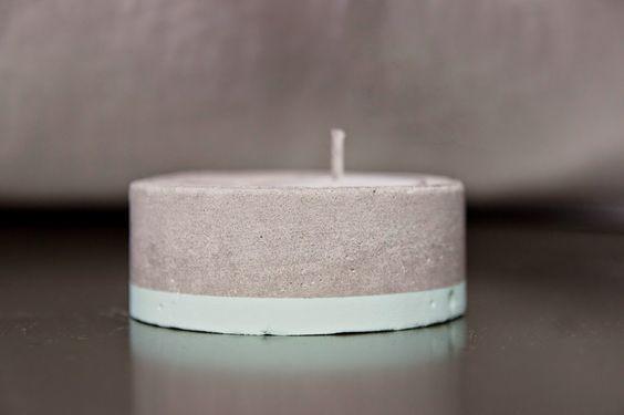 Hay un trasto en mi armario - #elretopinterest abril DIY tealight concrete-portavelas cemento