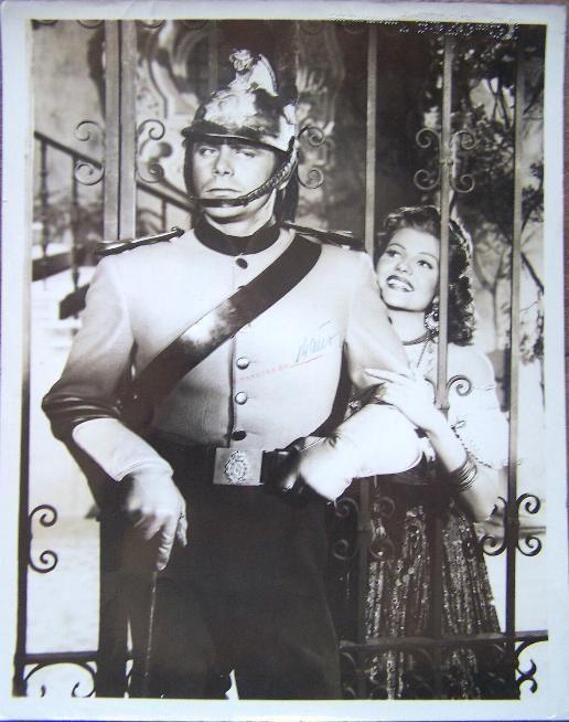 Glenn Ford Rita Hayworth The Loves of Carmen: