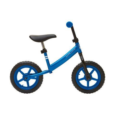 Blue 28cm Whirlwind Balance Bike Kmart Balance Bike Tricycle