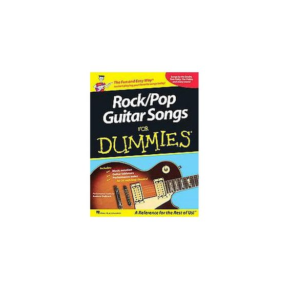 Rock/Pop Guitar Songs for Dummies (Paperback)