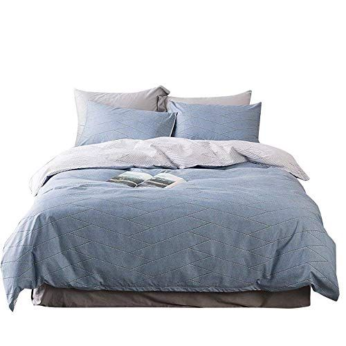 Fitted Sheet Queen Flat Sheet Sets Pillowcases White Black Blue Grey Rust Green