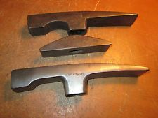 Lot of 3 Vintage Stone Mason Hammers True Temper STANLEY AUSTRIA FREE SHIP