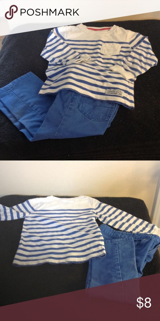 Carter's 4t-5t matching pants and jeans set. Carter's 4t-5t matching pants and jeans set. Carter's Matching Sets