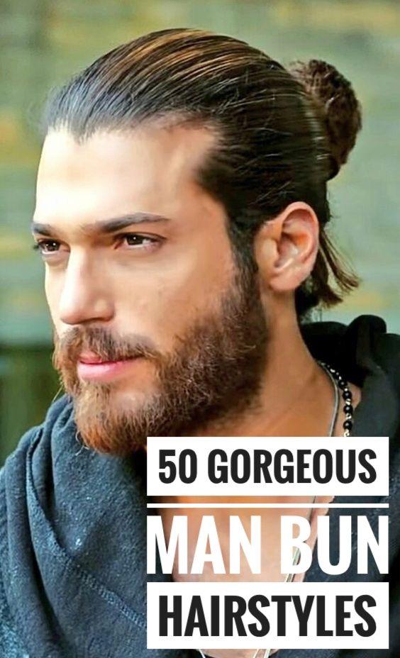 50 Handsome Man Bun Hairstyles Man Bun Hairstyles Bun Hairstyles Man Bun Styles