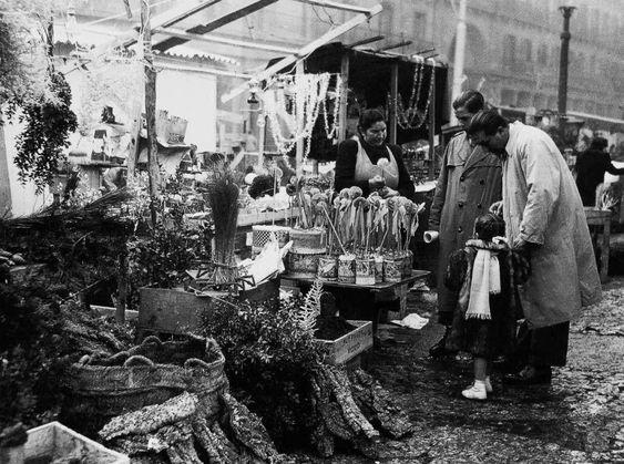 Plaza Mayor de Madrid: Navidades de 1953