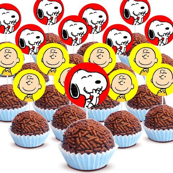 Inspiração para decoração festa Snoopy – Peanuts – Rabisco Colorido: