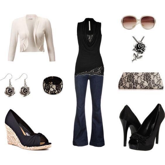 Black lace!!