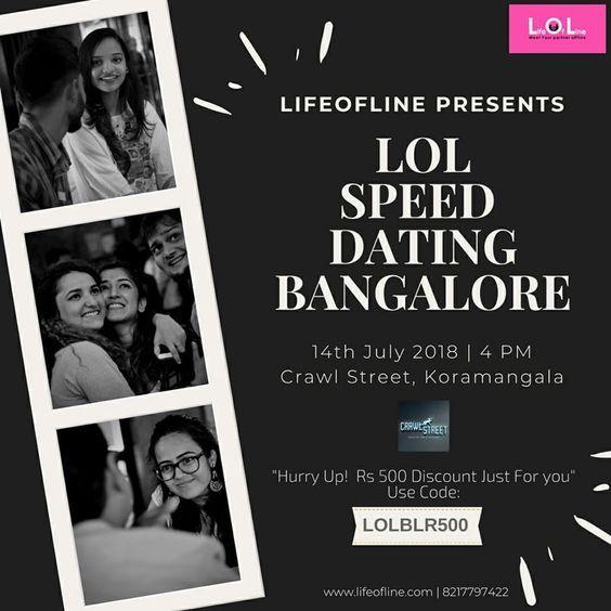 Bangalore speed dating vragen te stellen voordat dating hem